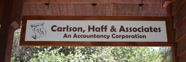 Carlson, Haff & Associates Sign