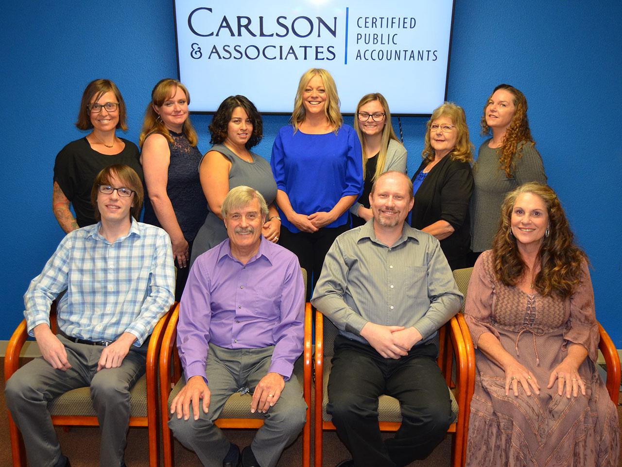 The Carlson & Associates Certified Public Accountants Team!